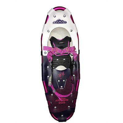 9x25in red rapid fastening snowshoes with tote bag- Brand new