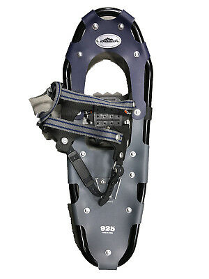 9x25in black rapid fastening snowshoes with tote bag- Brand new