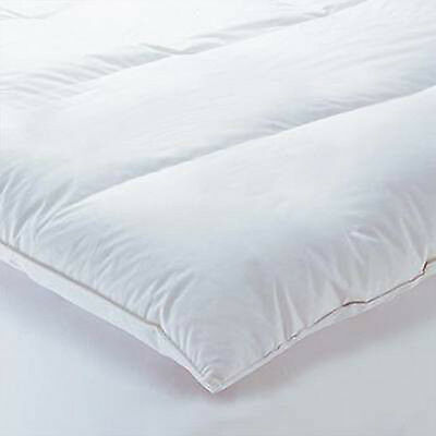 Luxury Duck Down Goose Feather Mattress Topper Quilted Protector Pillow All Size
