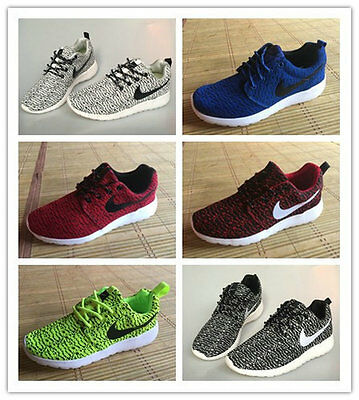 Men Running Trainers Boys Gym breathable Shock Fitness Sports Fitness Shoes Size