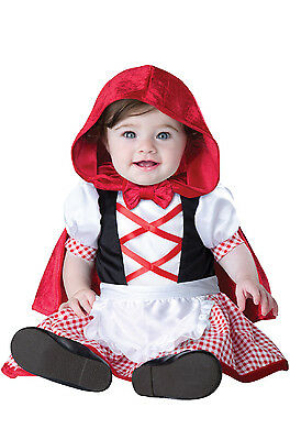 Adorable Little Red Riding Hood Infant Baby Costume