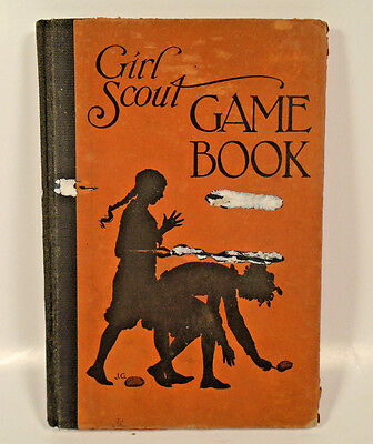 Vintage Girl Scout Game Book 1929 Edition Hardcover