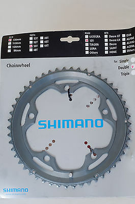 New Shimano 105 Chainring 50T FC-5600, 130 PCD, for double chainring crankset