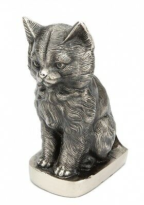 Sitting Sweet Cremation Ashes Cat Urn - UU530003A