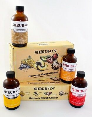 Shrub & Co Summer Gift Set (4 x 100ml)