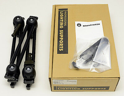 Manfrotto 396B-3 3-Section Double Articulated Arm + Camera Bracket FREE SHIPPING