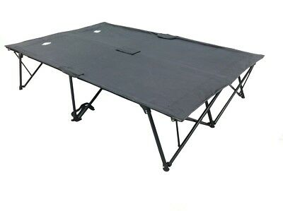 Kamprite Queen Kwik Cot Camp Stretcher Bed (2 Person)