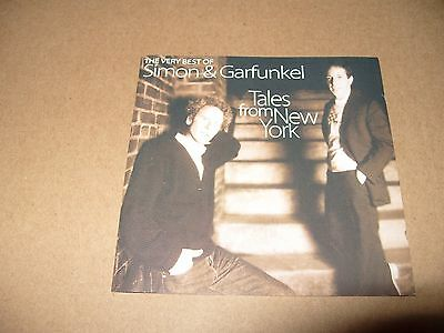 The Very Best Of Simon & Garfunkel Tales From New York 2 cd 40 tracks 1999 Ex Co