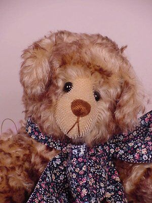 "15"" Keeper of the Heart Bear by Sherry Marshall (Bears To Share) W/Tag - Artist"