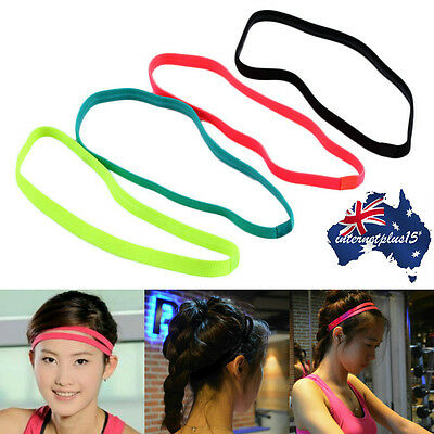 Women Men Elastic Sports Football Non-slip Yoga Headscarf Hairband Headbands Lot