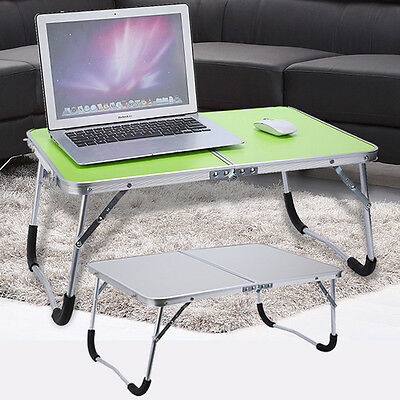 Adjustable Portable Laptop Table Stand Folding Computer Reading Desk Bed Tray AU