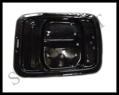 Vintage Vespa Sprint Rear Buddy Pillion Seat Plate/ Base / Rack Black New