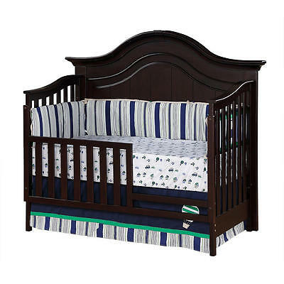 Baby Cache Melbourne Toddler Guard Rail - Espresso