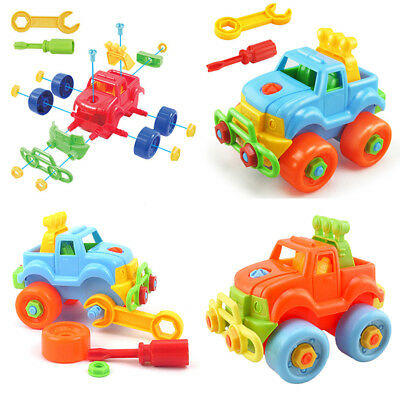 Pop hot Holiday Gift Kids Child Baby Boy Disassembly Assembly Classic Car Toy