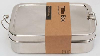 Stainless Steel  TIFFIN BOX. By Garden Trading.
