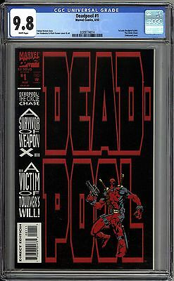 Deadpool The Circle Chase 1 CGC Graded 9.8 NM/MT  Marvel Comics 1993