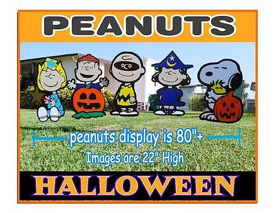 Halloween Peanuts Sally Charlie Brown Snoopy ,Linus, Lucy Decorations combo