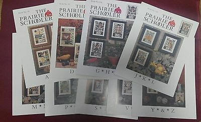 The Prairie Schooler cross stitch Charts.  Choose! with cheap worldwide Shipping