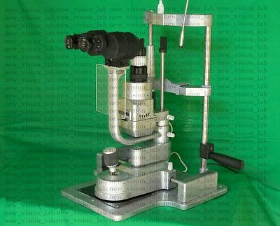 Slit Lamp Z Type 3 Step Aluminium Plated With Beam Splitter,C Mount & Camera