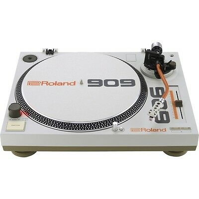 Roland TT-99 Limited Edition 3-Speed Direct Drive DJ Vinyl Turntable TR-909