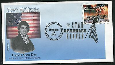 WAR OF 1812  BICENTENNIAL * FORT McHENRY * STAR-SPANGLED BANNER *ROCKY RIVER OH*