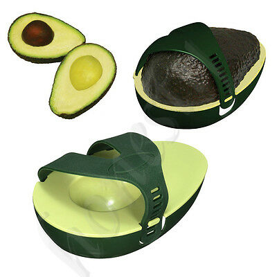 New Avocado Avo Stay Fresh Saver Leftover Half Food Keeper Holder Kitchen Gadget