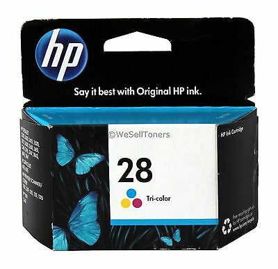 HP 28 Tri-Color Ink Cartridge C8728AN Genuine New