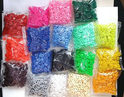 PLASTIC HINGED SCREW COVER CAPS - SIZE 6-8 - 18 Colours - CHEAPEST ON EBAY