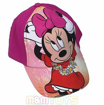 Disney Minnie Mouse Girls Baseball Hat Cap for Kids One SIze