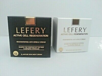 Lefery Active Cell Regeneration Day Night Cream Anti aging Anti-wrinkle Facelift