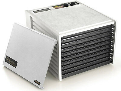 Excalibur Dehydrator 9 Tray 4926T WHITE (WITH TIMER) | 5 Year Warranty