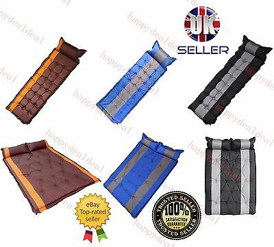 Self Inflating Camping Roll Mat/pad Inflatable Bed Sleeping Mattress +Bag