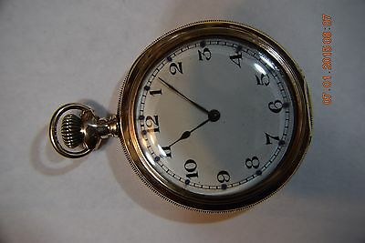 12 S-Illinoise Movement -BLIND PERSONS WATCH-Open Face-1927-17 J- 20 year Case-
