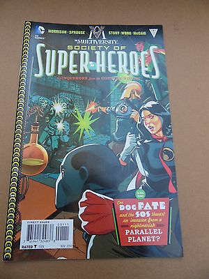 The Multiversity:the Society of Super- Heroes : Conq... 1 .DC 2014 - VF - minus