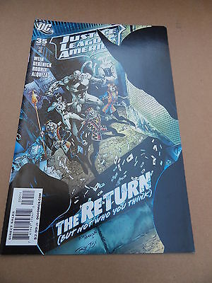 Justice League Of America  35 . DC  2009 -    VF