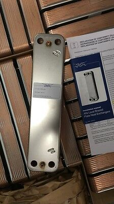 Alfa Laval Brazed Plate Heat Exchanger CB18-16H, 16 plates, New!