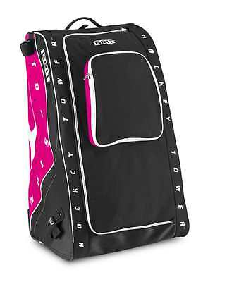 Grit Inc HT5 Hockey Tower 36 Inch Hockey Bag Diva colour (black-pink) Adult size