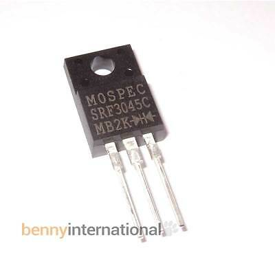 30A 45V SCHOTTKY DIODE MULTICOMP Common Cathode MBRF3045 Solar Wind 12V 24V
