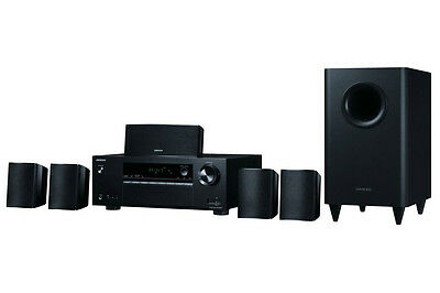 Onkyo 5.1 Channel Home Theater Receiver & Speaker Package (HT-S3800)