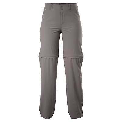 Kathmandu Semsa Womens Zip Off Shorts Lightweight Travel Pants Trousers v2 Mocha