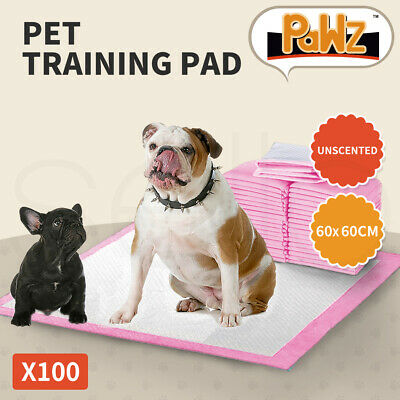 100pcs 60x60cm Puppy Pet Dog Indoor Cat Toilet Training Pads Absorbent
