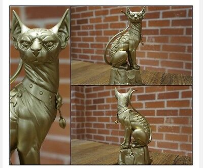 Gold Lying Cat 8 Inch Statue - Saga Factory Sealed Image Comics Limited To 300