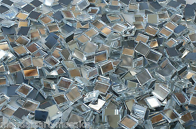 MIRROR MOSAIC GLASS TILES 1 x 1cm 400g