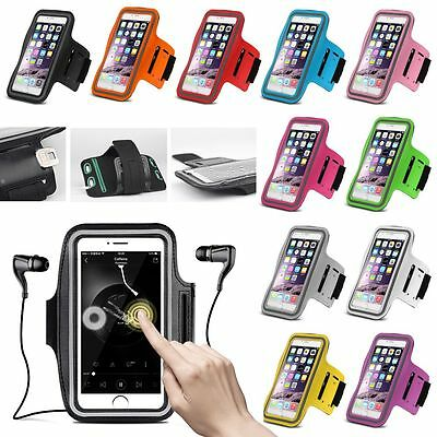 iPhone 7 Gym Running Jogging Sports Armband Exercise Workout Holder Case Cover
