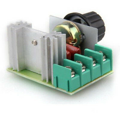 High power 2000W SCR Voltage Regulator Dimmers speed thermostat LW