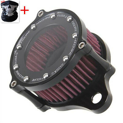 Air Cleaner Intake Filter Systems Kit For Harley Sportster XL 883 1200 & Mask