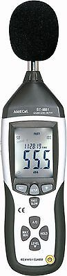 AMECaL ST-8851 Sound Level Meter Equivalents: Decibel / Noise Meter