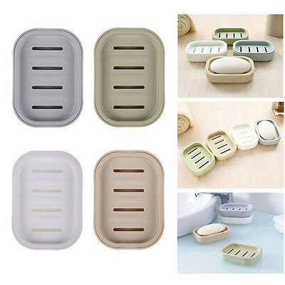Soap Dispenser Dish Case Holder Container Box for Bathroom Travel Carry Case MO