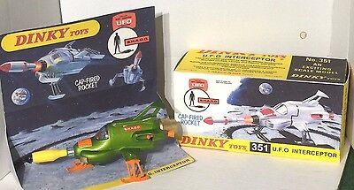 Dinky Toys No.351 SHADO UFO Interceptor - Gerry Anderson