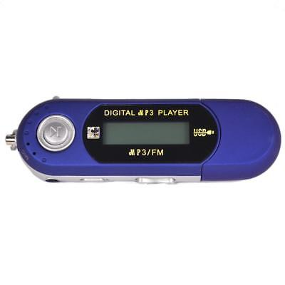 Blu 32GB MP3 MP4 WMA USB di musica con FM Radio